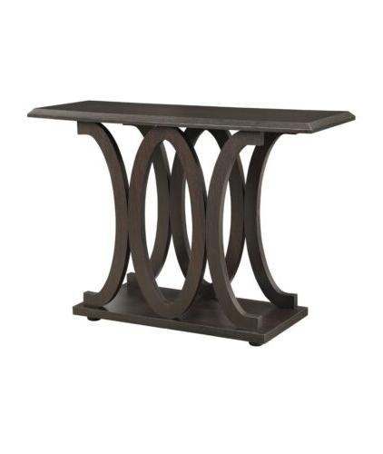 Coaster Furniture Wood Transitional Console