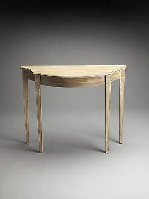 butler chester driftwood console table new