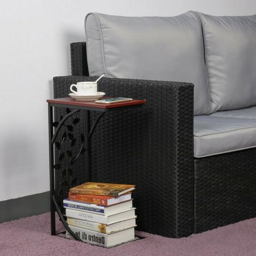 C Small Side Tables Snack Laptop