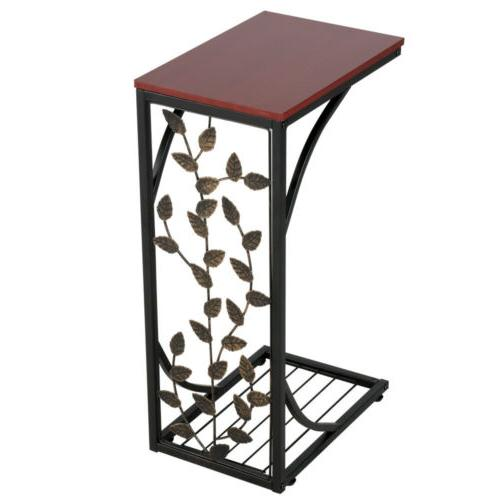 C Small Tables Snack Laptop Table Nightstands Storage