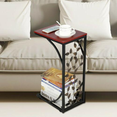 C Small Side Tables Snack Accent Laptop Table