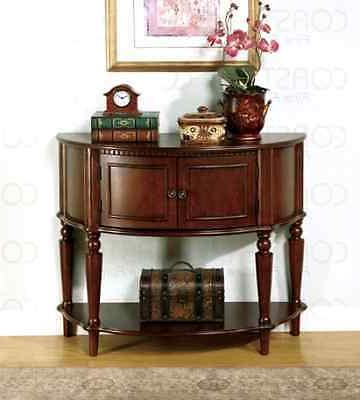 coaster storage entry way console table hall