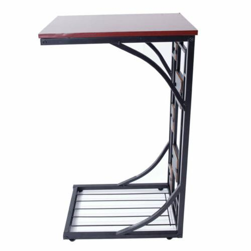 Coffee Sofa Table Desk End TV Couch Console Iron Furniture