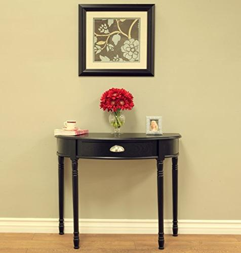 Frenchi Home Sofa Table Black, None