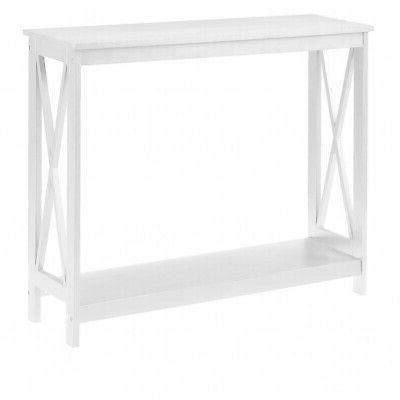 Console Table Side End Hallway Modern Display