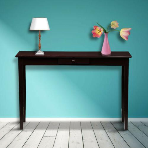Console Table Desk End Side Stand