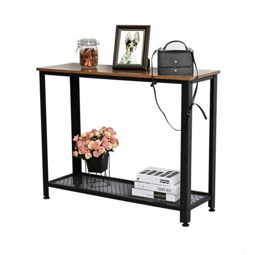 Console Entryway Table with Shelf New