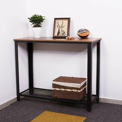console table entry hallway entryway side sofa