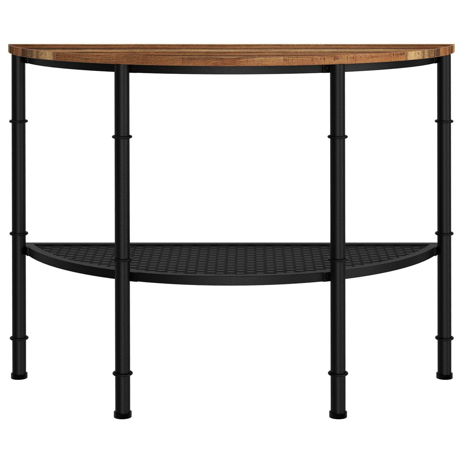 IRONCK Table Shelf, Half Moon