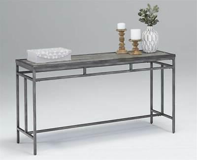 console table gray