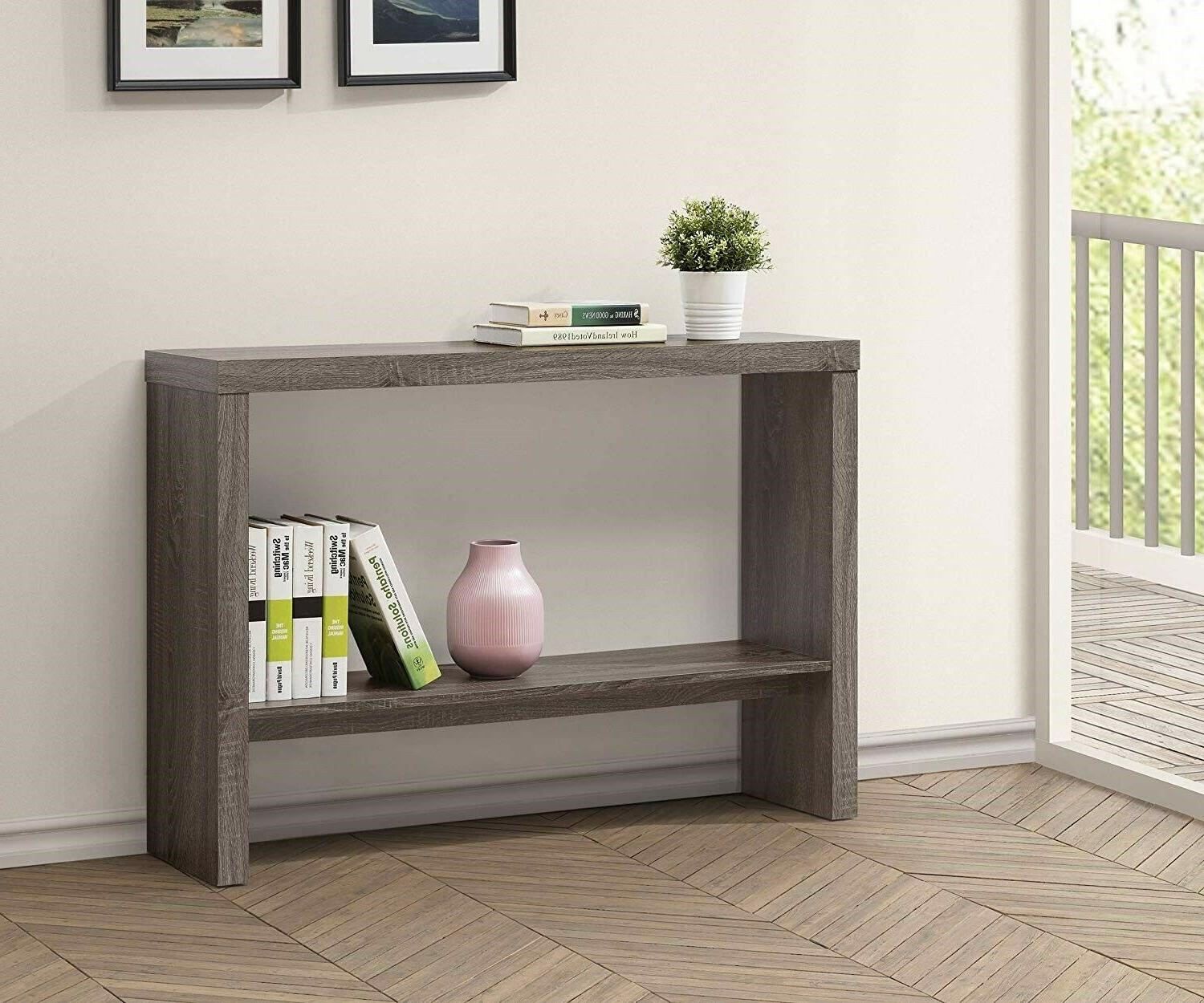 console table grey furniture living room vintage