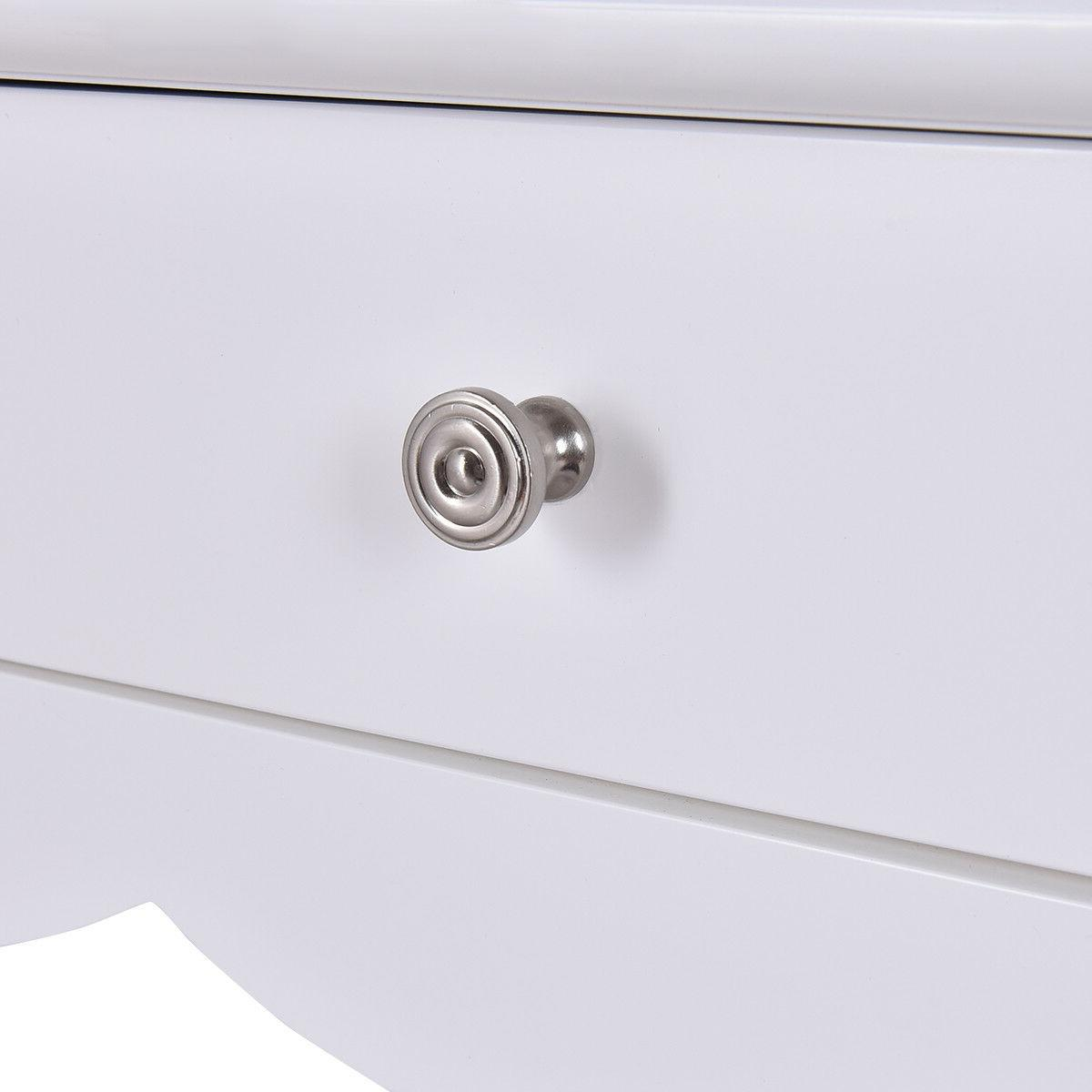 Console Side Entryway Desk White