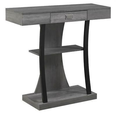 console table in charcoal gray id 3856156