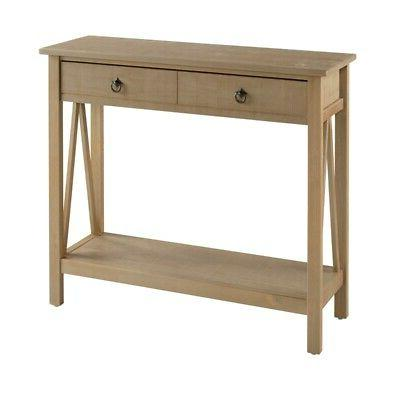 Riverbay Console in Gray