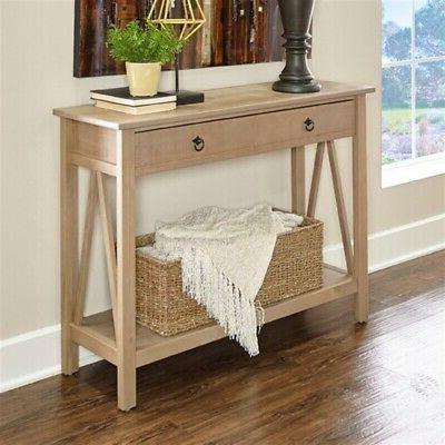 Riverbay Furniture Table in Rustic