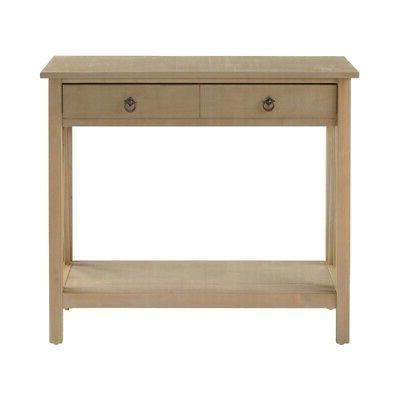 Riverbay Furniture Console in Rustic