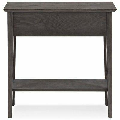 Bowery Hill Console in Gray