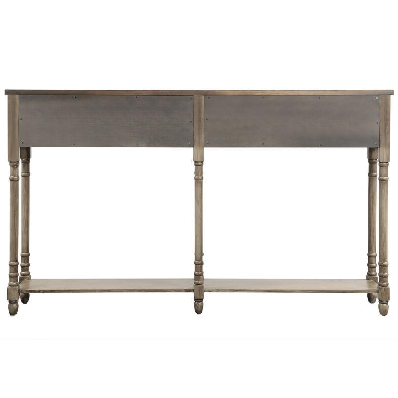 Console Table with Console Tables Entryway Drawers Wood