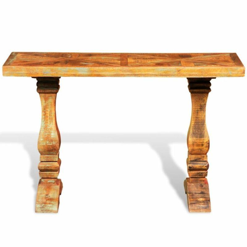 Console Wood console table Rustic