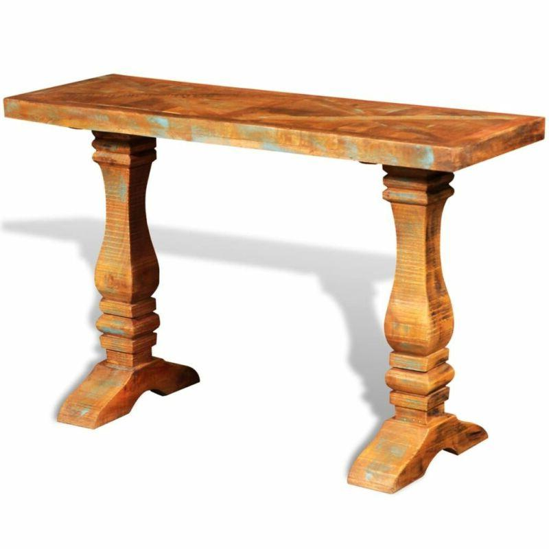 Console Table Wood vintage table Rustic