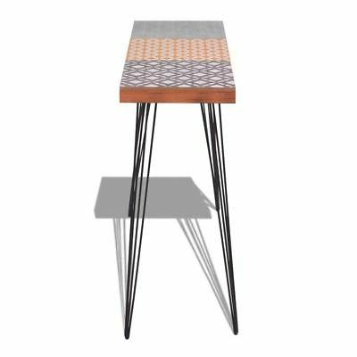 Stylish Narrow Console Table Hallway Table Steel