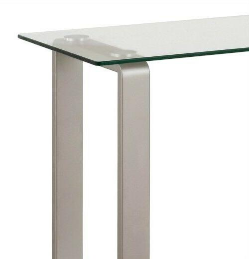 Contemporary Console Table Top Tier Entry Modern New