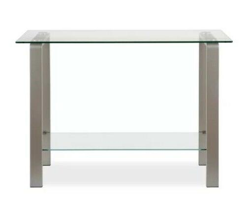 Contemporary Console Glass Top 2 New