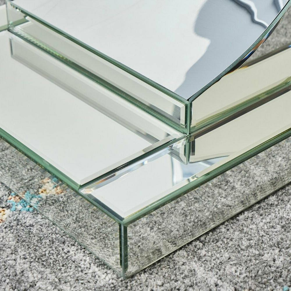 Mirrored Entryway Contemporary Desk Furniture