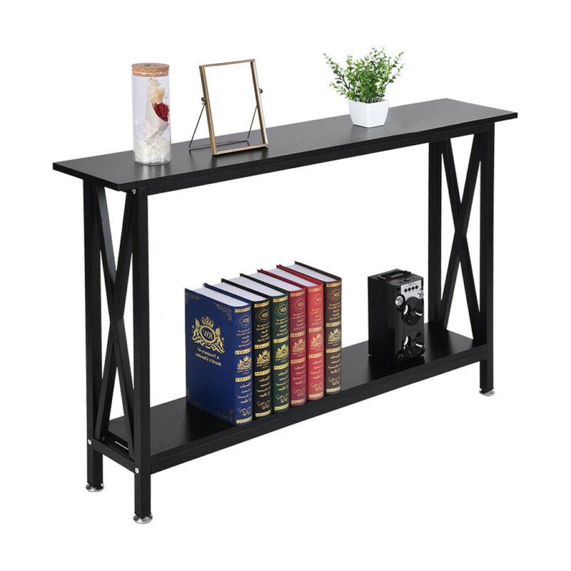 """47"""" Console Table Entry Hallway Entryway Side Sofa Accent Ta"""