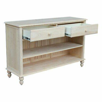 International Cottage Console Table
