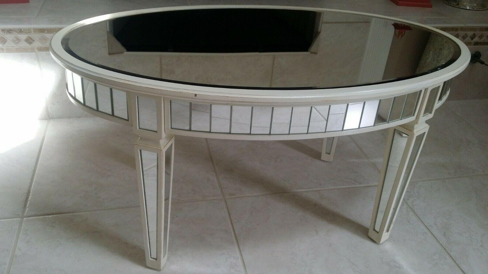 **Pier 1** WHITE COFFEE SOFA CONSOLE