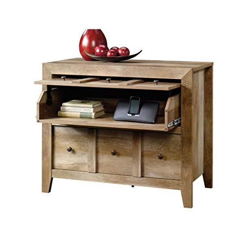 Sauder Anywhere Console TVs up to Oak finish