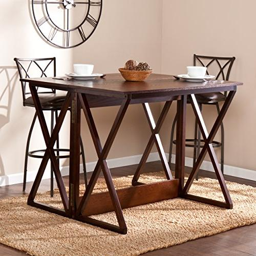 """Southern Enterprises Derby Console Dining Counter 37"""", Espresso"""