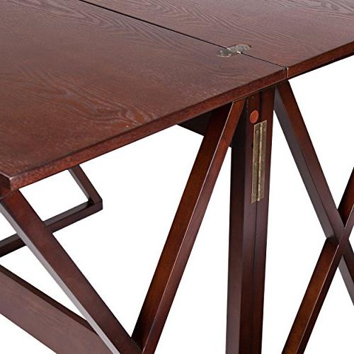 """Southern Derby Console Counter Table 37"""", Espresso"""