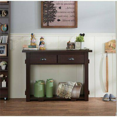 Furniture of America Console Table in