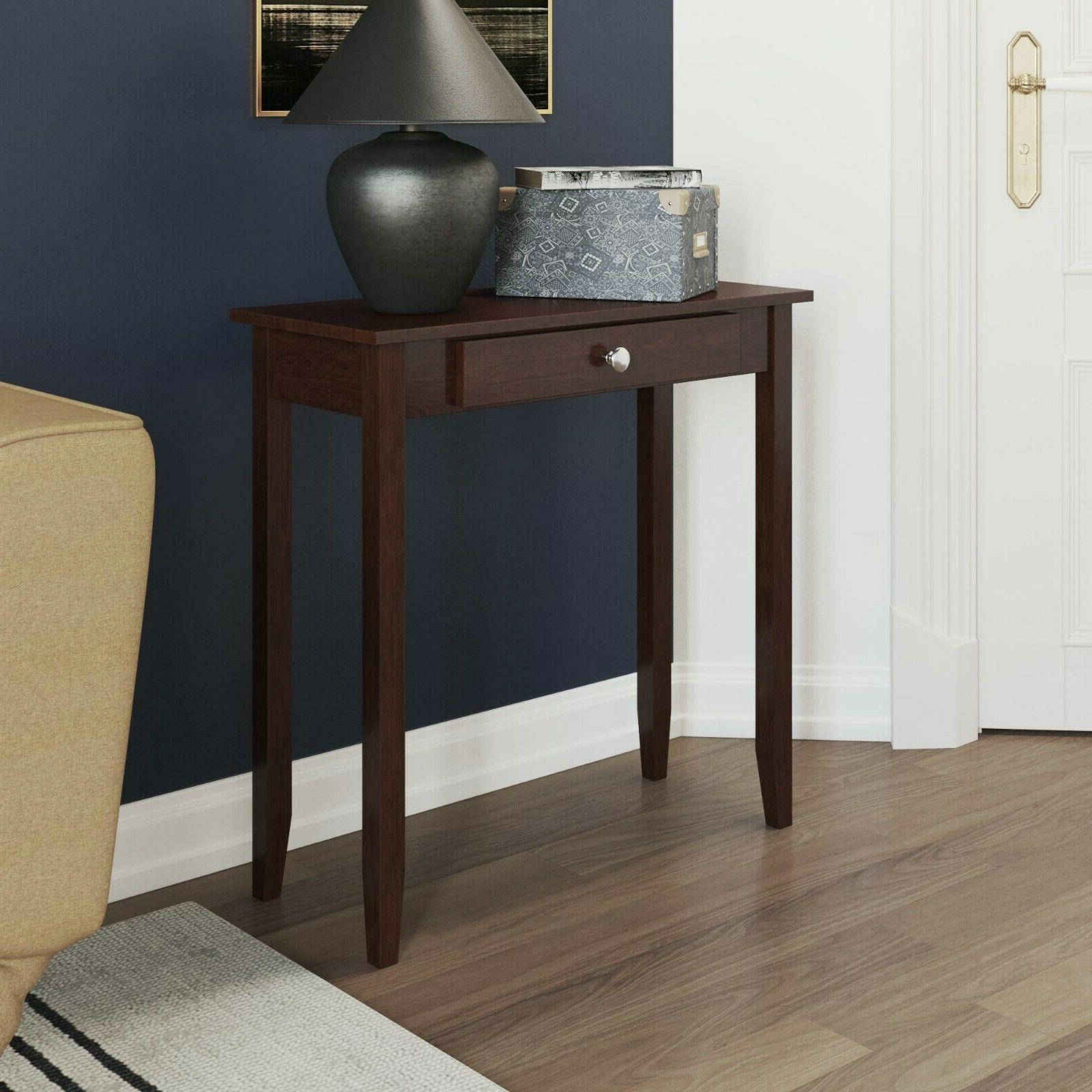 Dhp Rosewood Console Table 5139096