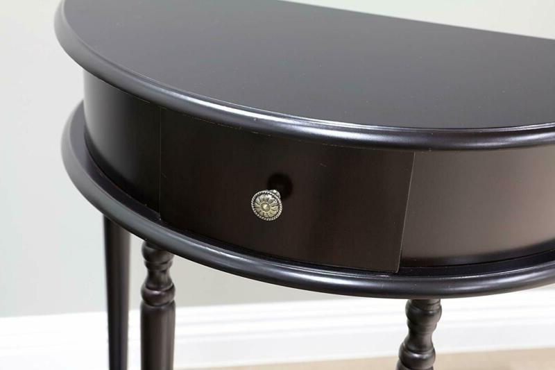 Frenchi Home Table/Side Table, Espresso