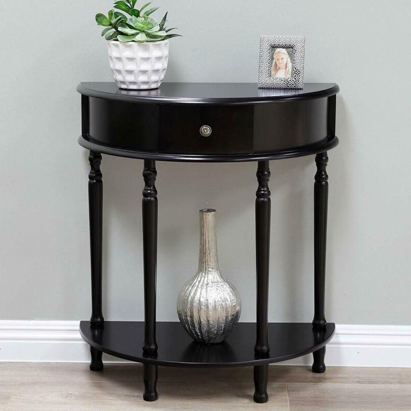 end table side table espresso finish