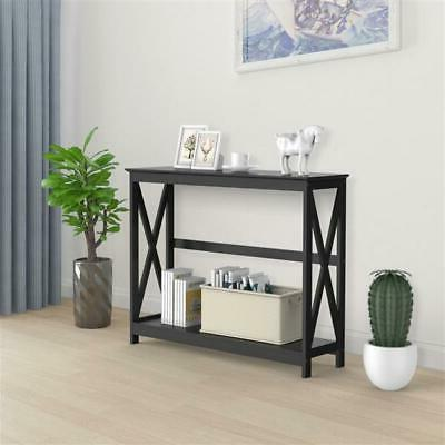 Entryway Table Shelves Living Room NEW