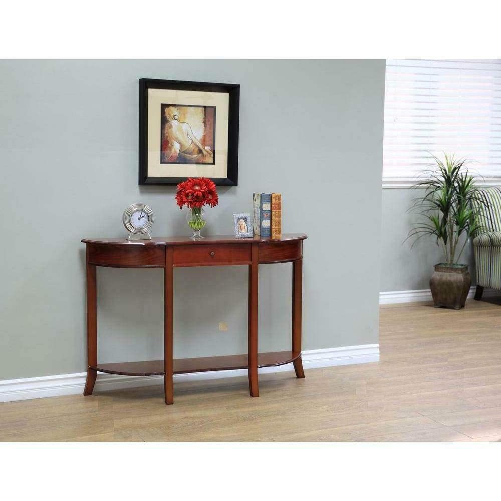 Console Table Entryway Sofa Living Room Display Storage