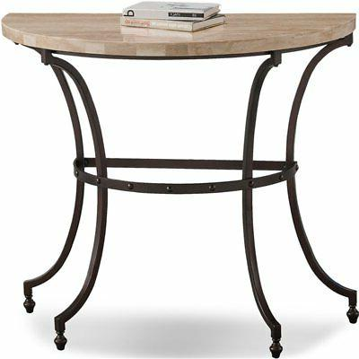 favorite finds console table in beige bronze