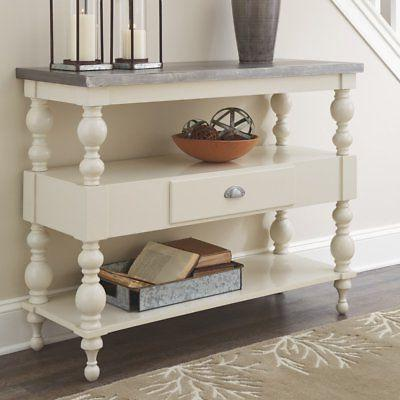 fossil ridge 45 in single drawer console