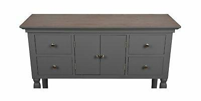 Décor Therapy FR8453 Four Drawer Gray