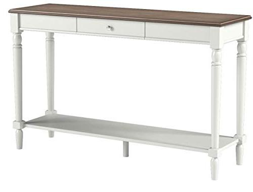 Convenience Concepts Console Table and White