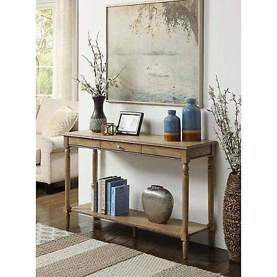 Convenience Concepts Console and Shelf