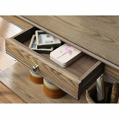 Convenience Concepts French Console and Shelf