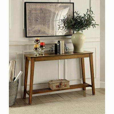 Furniture of America Geno Mission Style Console Table