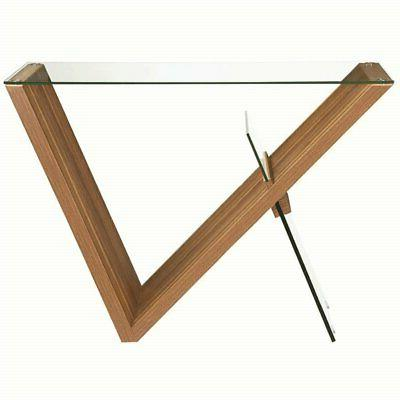 Coaster Glass Console Table in