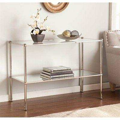 Bowery Console Silver