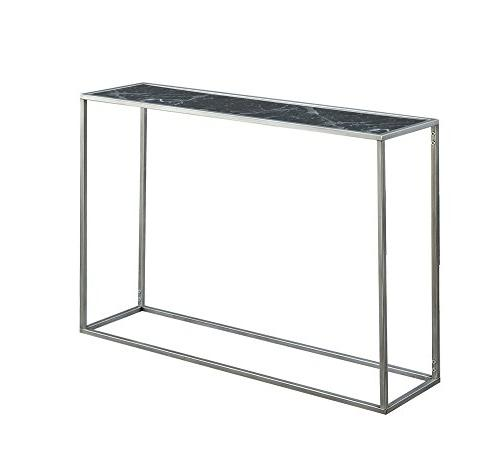 Convenience Gold Faux Marble Black Silver
